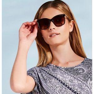 Michael Kors Zermatt Square Sunglasses UV Black